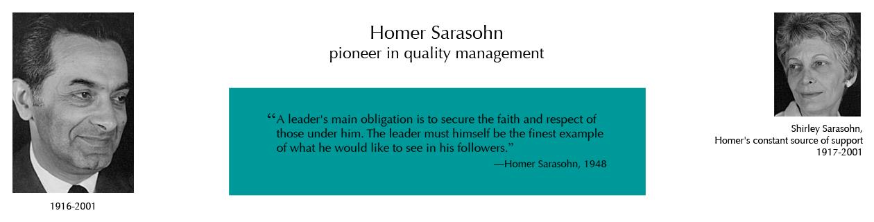 Honoring Homer Sarasohn
